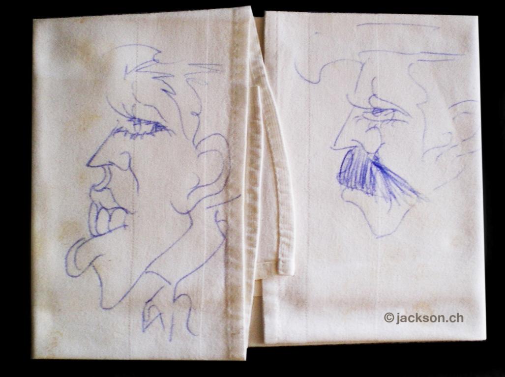 """Cuando viajé con Michael"", en el Orient Express durante el Dangerous tour 1992 Oe-mj-painting"