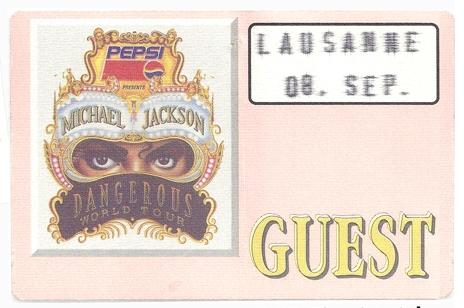 """Cuando viajé con Michael"", en el Orient Express durante el Dangerous tour 1992 Oe-vip-dtour"